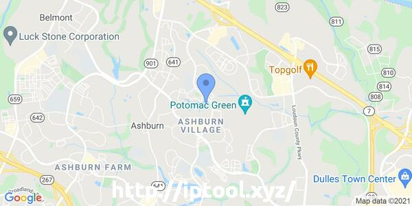 IP=18.232.31.46, Zoom=13, Lattitude=39.0481, Longitude=-77.4728, City=United States (US)/Ashburn